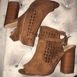 Madden Brown Chunky Heels
